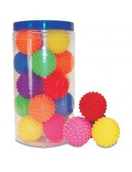 Bola Cravinho de Borracha Brinquedo Pet - 20 Pçs