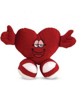 Coração de Pelúcia Vermelho...