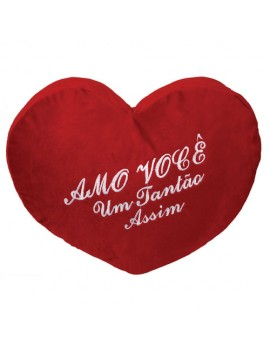 Coração de Pelúcia Amo Você...