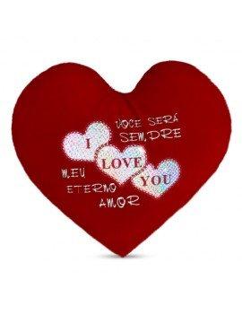 Coração de Pelúcia I Love...