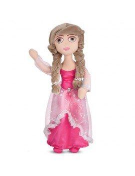 Boneca de Pelúcia Princesa Morena 54 cm Antialérgica