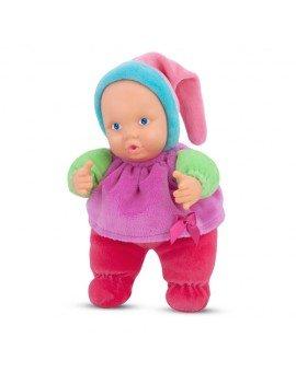 Boneca Puppet Baby Colorida...