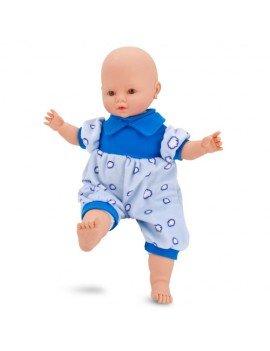 Boneco Tico Bebê Azul 38 cm