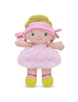 Boneca de Pelúcia Tina Rosa...
