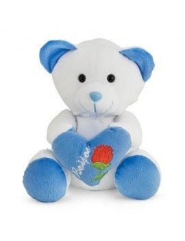 Urso de Pelúcia Beijo Azul...