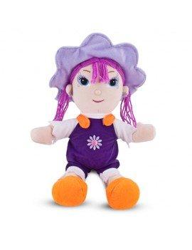 Boneca de Pelúcia Violeta...