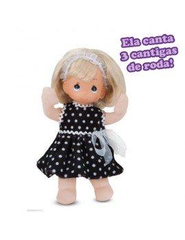 Boneca Júlia Com Vestido...
