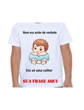 Camisa Infantil...