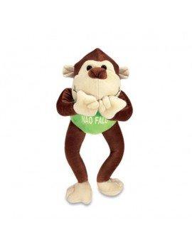 Macaco Sábio de Pelúcia Não...
